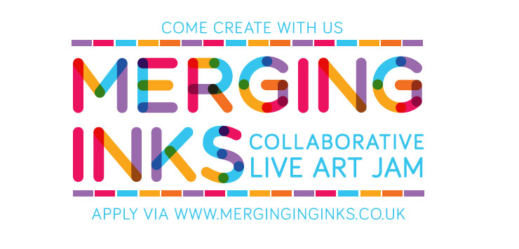 Merging Inks Art Jam - collaborate with us
