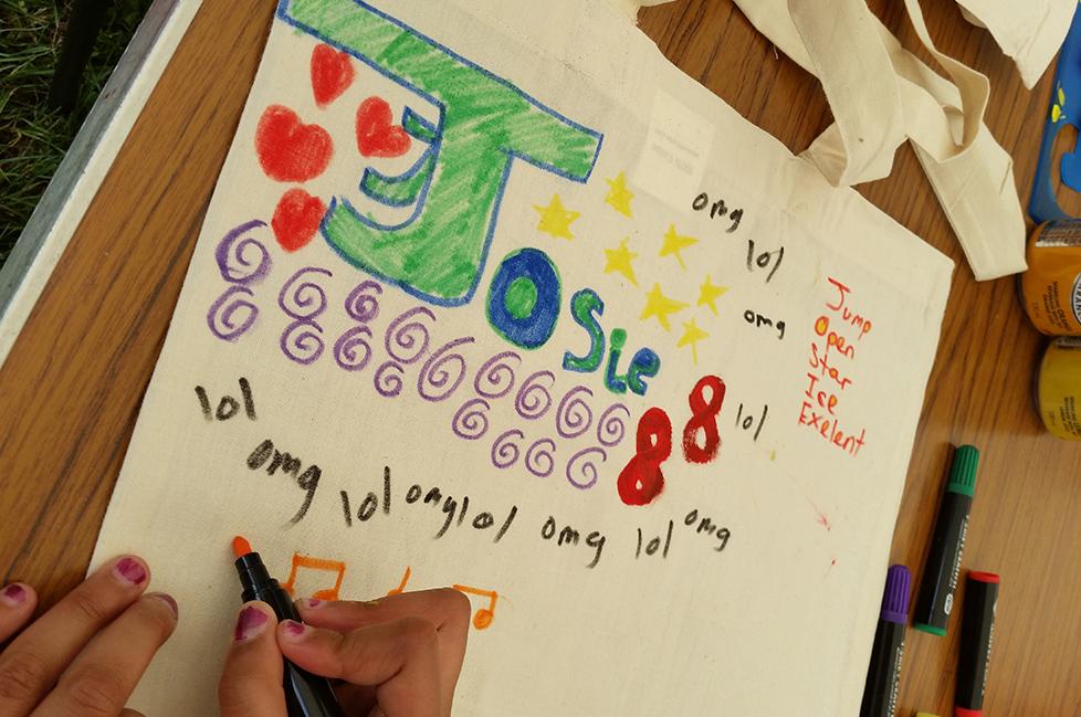 Design Your Own Tote Bag Children's Workshop