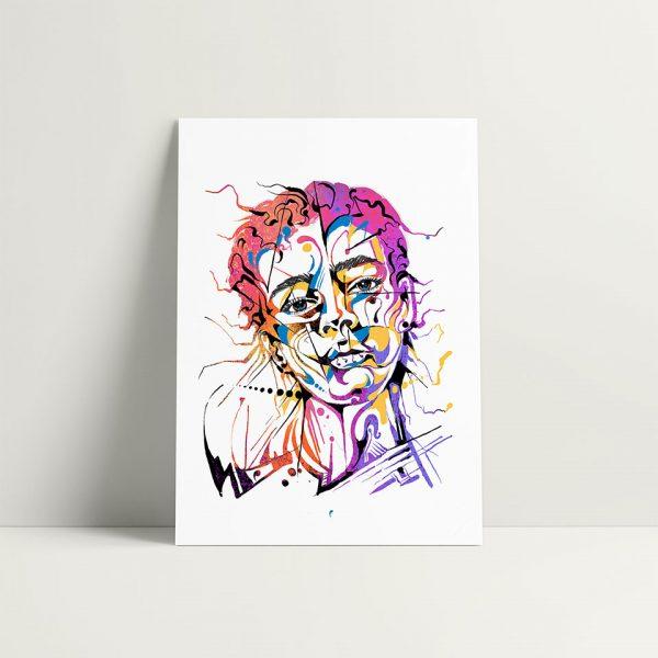 Wavy-print